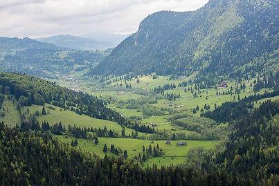 Utsikt i Transylvanien