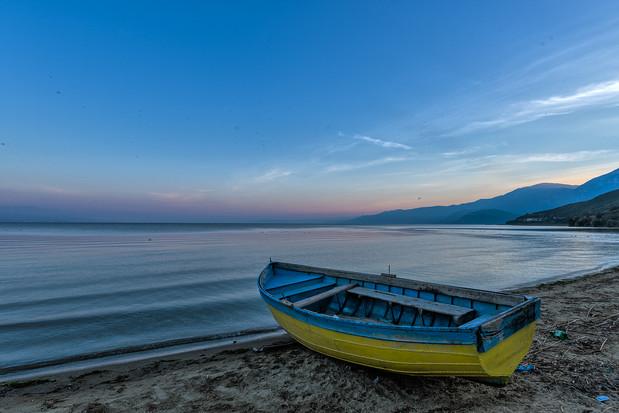 Ohridsjön, Albanien