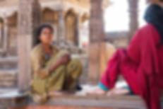 Kvinnor i Bhaktapur Nepal