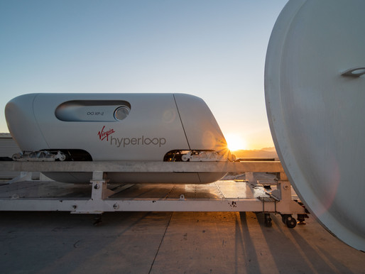The First Hyperloop Passenger Test Has Been Completed, What's Next?