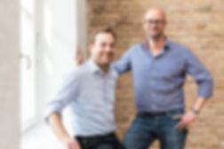 Blacklane founders Frank Steuer and Jens