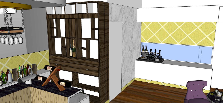 Restro Bar display unit
