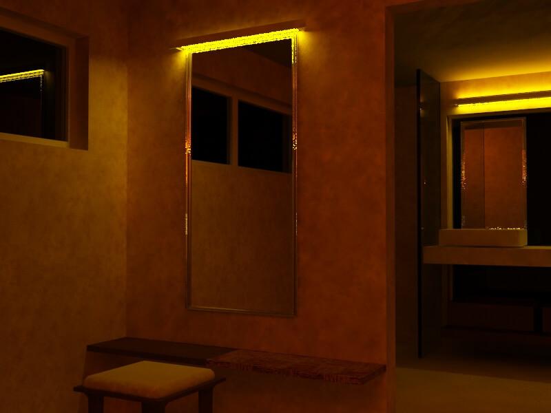 Cottage Dressing room interior