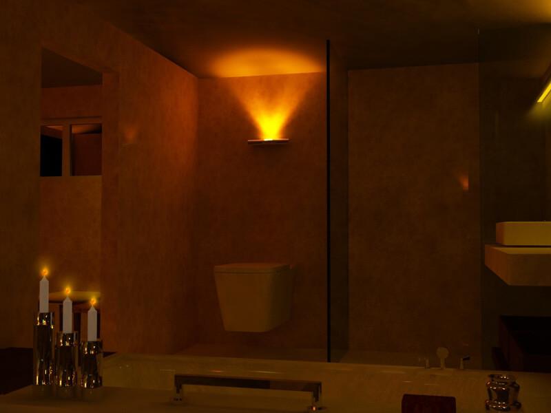 Cottage toilet interior