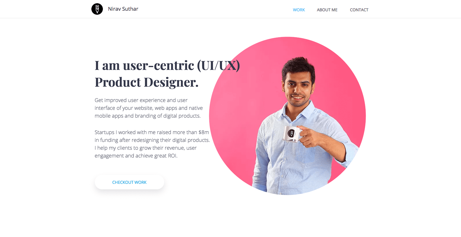 Product Designer   Web   Mobile Apps   Branding - Nirav Suthar