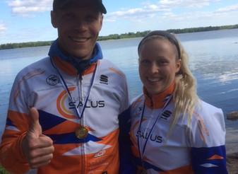 Vantaan Kuusijärvellä triathlon -kauden avaus - JäPyläisille useita voittoja!