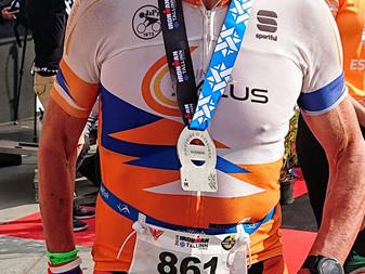 JäPyn triathlonisteille kaksi podium -paikkaa täydenmatkan Ironman -kilpailussa Tallinnassa 3.8.2019