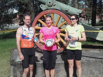 JäPyläiset triathlonistit kisasivat viikonvaihteessa kotimaassa ja ulkomailla