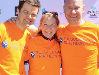 Ensi kesän Tuusulanjärvi Triathlonin kisajärjestelyt hyvällä mallilla!