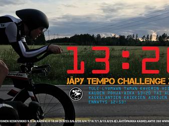 JäPy tempo käynnistyy keskiviikkona 9.5.