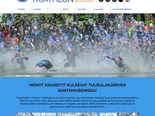 JäPy Tuusulanjärvi Triathlonin uudet kisasivut avattu!