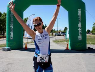 Tuusulanjärvi Triathlonissa uutuutena sprinttimatkan joukkueviesti!