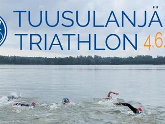 Tuusulanjärvi Triathlon 2017 on loppuunmyyty!