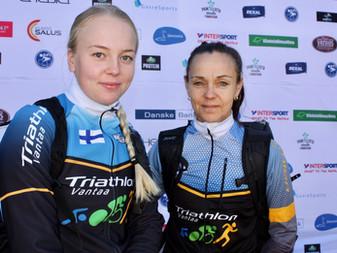 Triathlon yhdisti perheitä JäPy:n tri-kisassa!