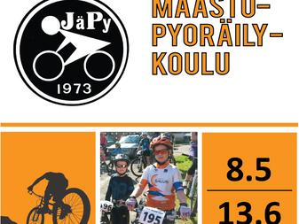 JäPyn maastopyöräkoulu lapsille 8.5. - 13.6.2017