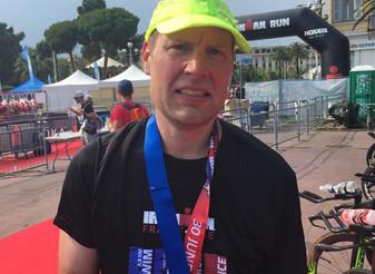 Matias Warstan kisaraportti Ironman Nizzan helteessä 30.6.2019!