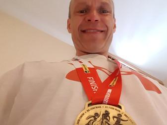 JäPyn Olli Kinnusen kisaraportti Itävallan Ironman 70.3. -kilpailusta viikonvaihteessa