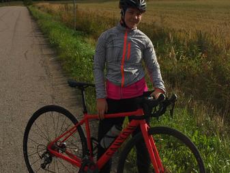JäPyn 200. jäsen on syksyn triathlonkoululainen Laura Häkkinen!