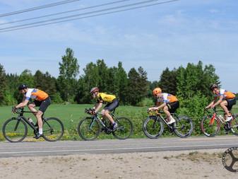 JäPy mukana helteisessä etappikilpailussa viikonloppuna