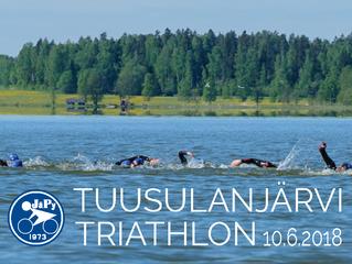 JäPy Tuusulanjärvi Triathlonin ilmoittauminen käynnistyi vauhdikkaasti!