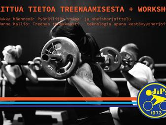 Tutkittua tietoa treenamisesta + workshop!