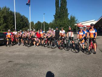 Koska pyöräily yhdessä on vielä hauskempaa - JäPy ja Bibi yhteislenkillä 16.8.2020