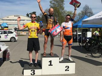 JäPy:n Mika Kariluoto Masters 1 -luokan podiumille Rajamäellä tänään!