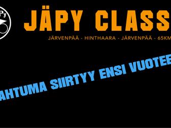 JäPy Classic 2021 siirtyy ensi vuoteen
