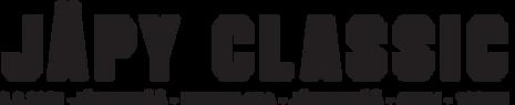 Pelkkä Classic tekstilogo (ilman jäpyl