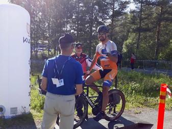 Maantiepyöräilyn Suomenmestaruus ratkottiin tänään Jurvassa