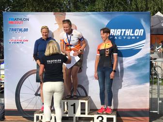 JäPyn triathlonisteille kaksi SM-kultamitalia Lohjalla!