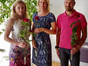 Järvenpään kaupunki palkitsi JäPy:n mestarit