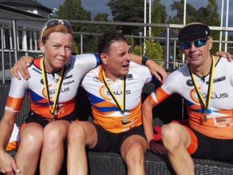 JäPyläisille kaksi SM-kultaa triathlonin perusmatkalta 26.8.2017