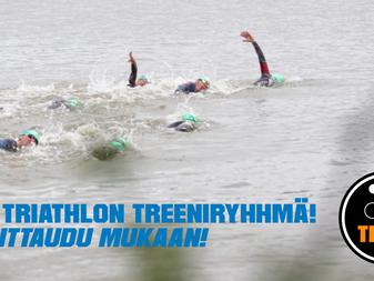 Vielä mahtuu mukaan uuteen triathlon-treeniryhmään JäPy Tribeen!