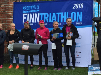 JäPyäisille menestystä Finntriathlon Vanajanlinnassa 11.6.2016