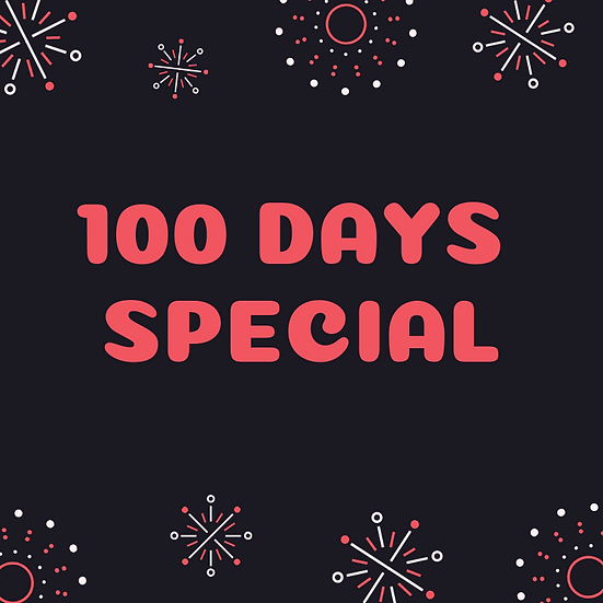 100 days special listing