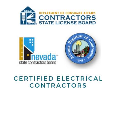 Contractors Licenses - AZ, NV, CA
