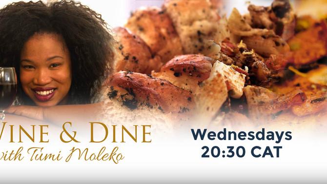 """""""Wine & Dine"""" Showing on M-Net's Zambezi Magic"""