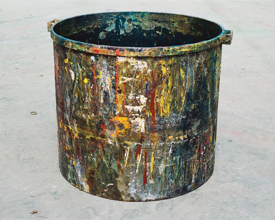 Shiva Paint Tub #9