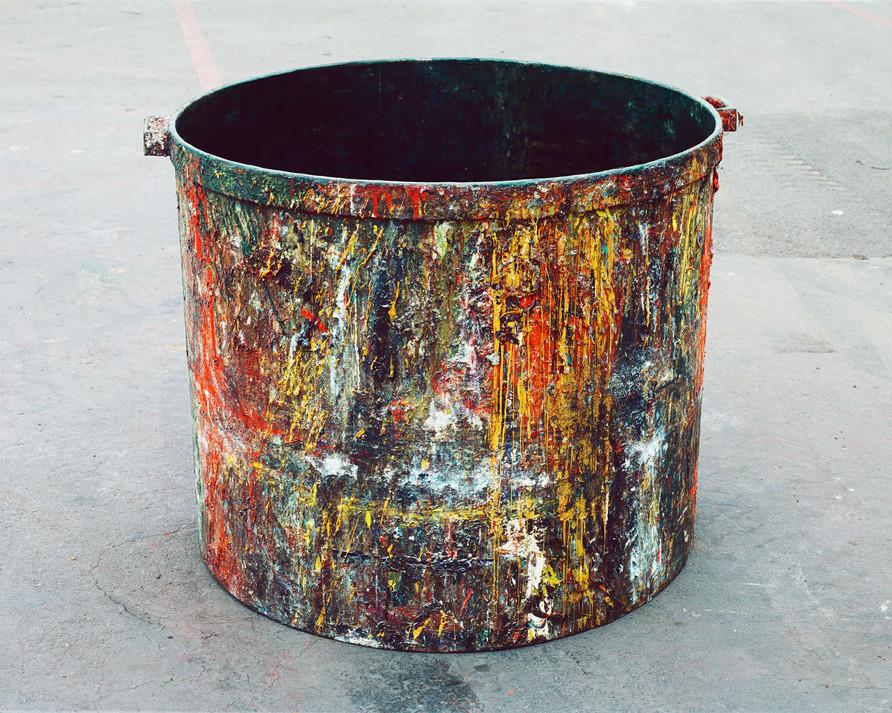Shiva Paint Tub #11
