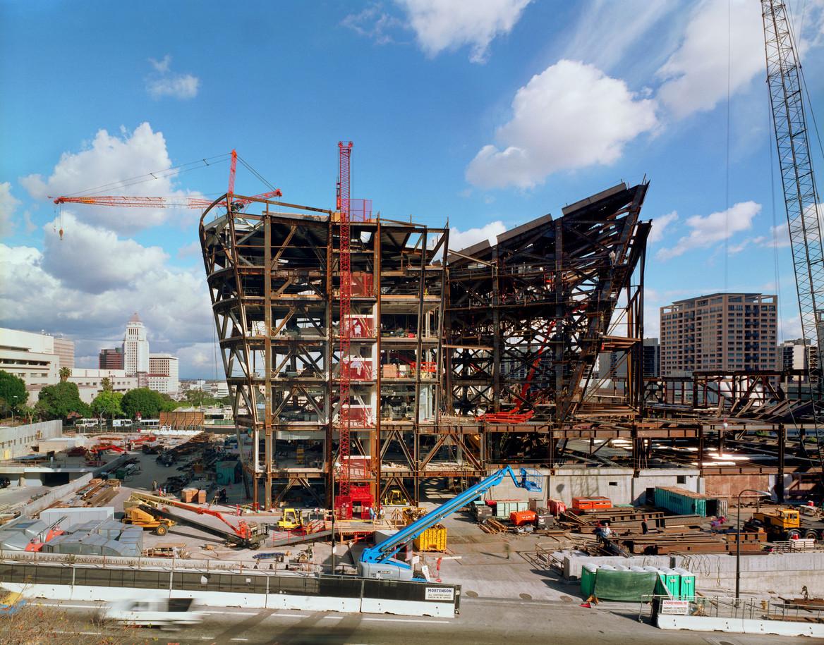 Disney Concert Hall Under Construction #3