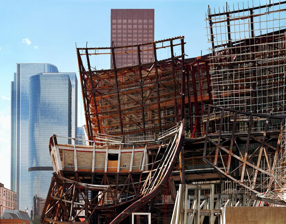 Disney Concert Hall Under Construction #2