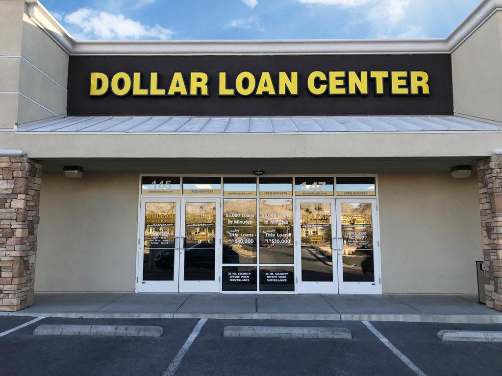 Dollar Loan Center - Ft. Apache