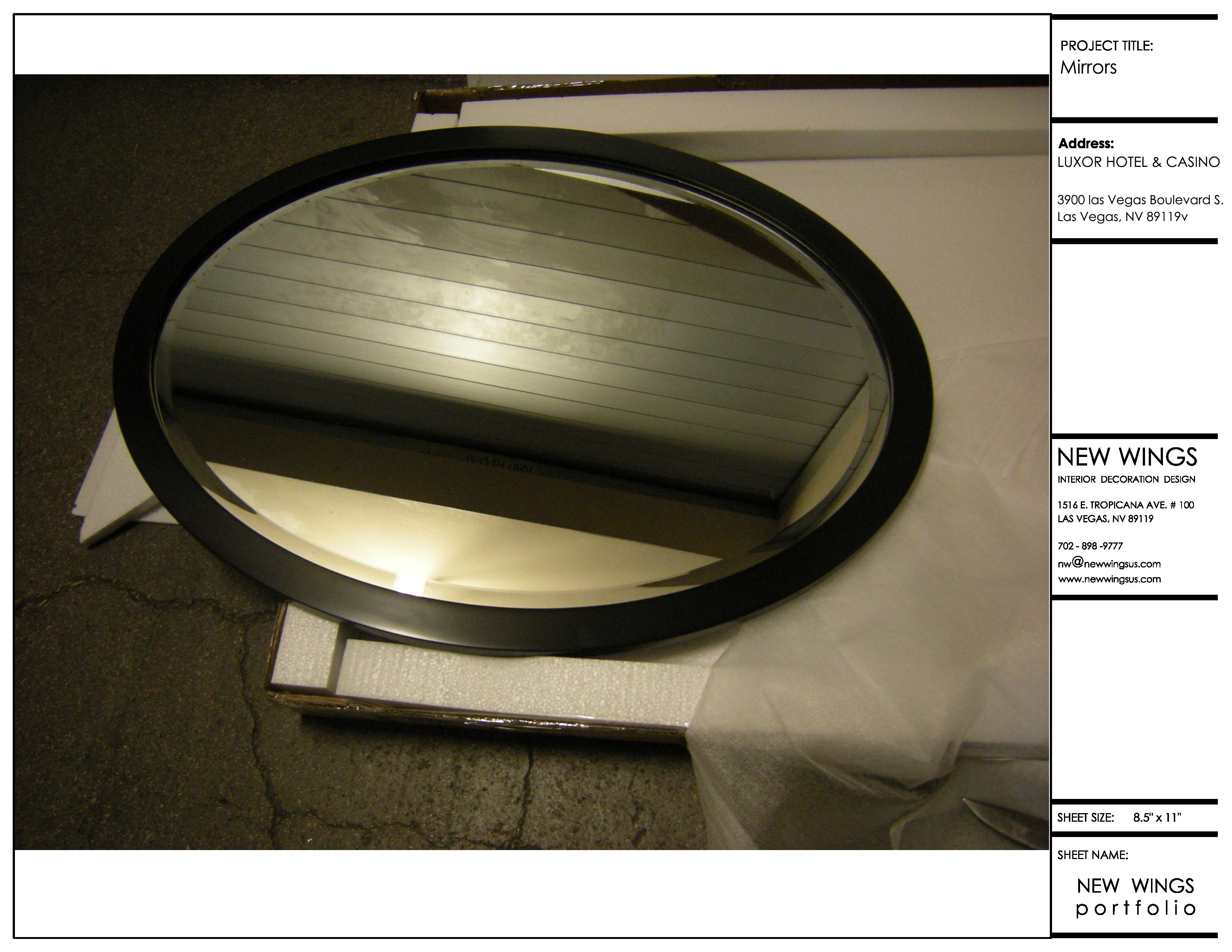 Custom-made Mirrors