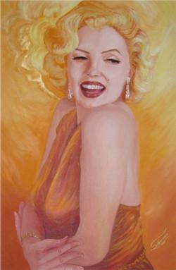 Marilyn on fire