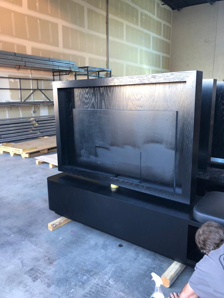 Luggage Bench - TV Frame