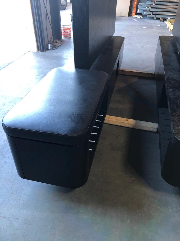 Luggage Bench - Upholstery