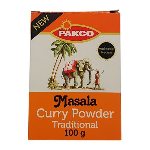 100g Packo Traditional Roasted Masala-Curry