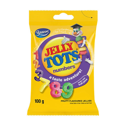 Beacon Jelly Tots  Numbers 100g