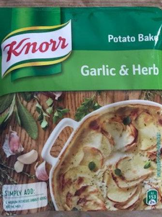 Potato Bake Garlic and Herb Knorr 43g